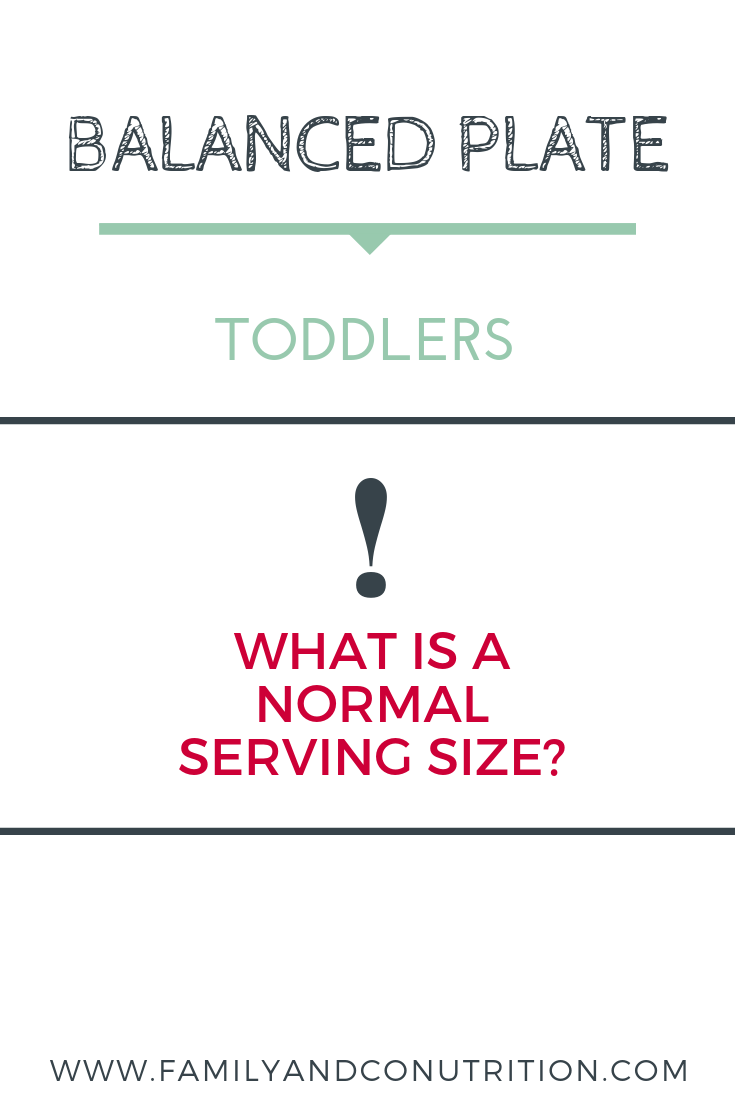 How much food should your toddler eat