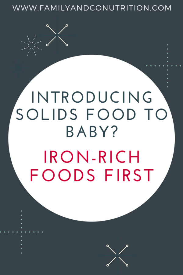 Check out our free guide on how to feed your baby iron rich foods