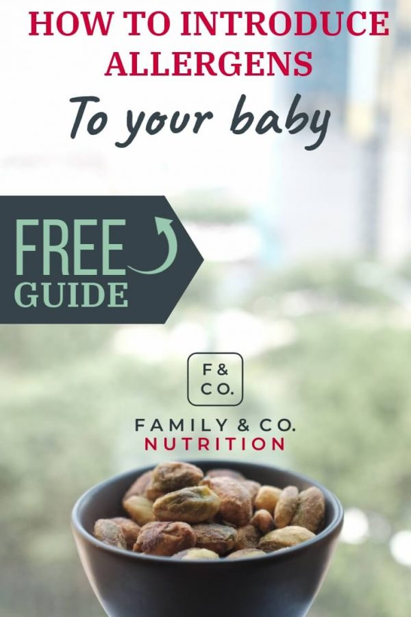 Learn how to safely introduce allergenic foods to your baby!
