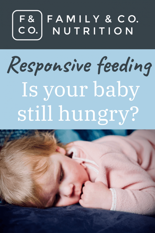 Baby's hunger cues and how to know when baby is full