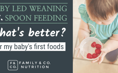 Is spoon feeding baby better than baby led weaning? Choosing baby's first foods at 6 months
