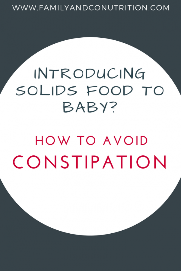 How to prevent constipation in newborn infants, toddlers, and children