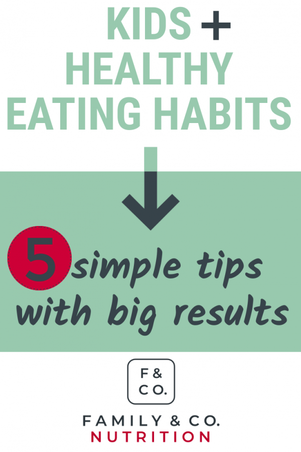 Raising happy eaters with positive eating habits