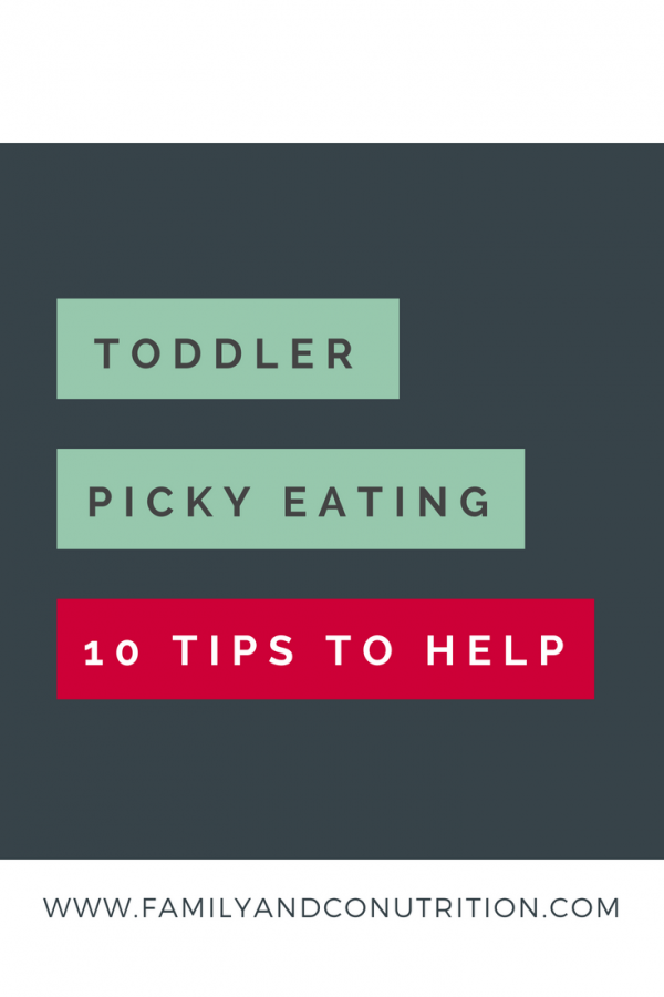 Toddler refusing to eat tips