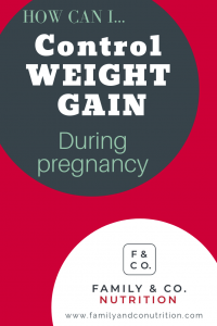 Weight gain during pregnancy: should you care and why ...