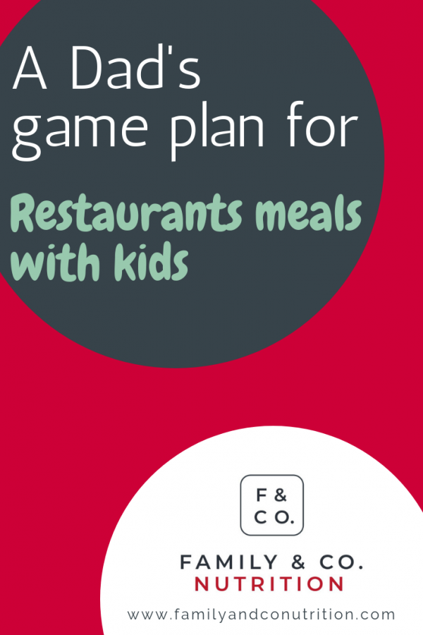 Restaurant activities with kids