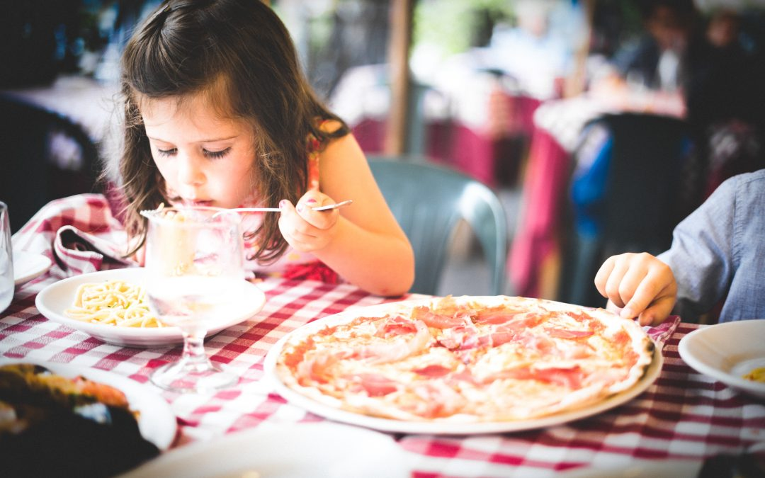 A dad's perspective on going to the restaurant with kids