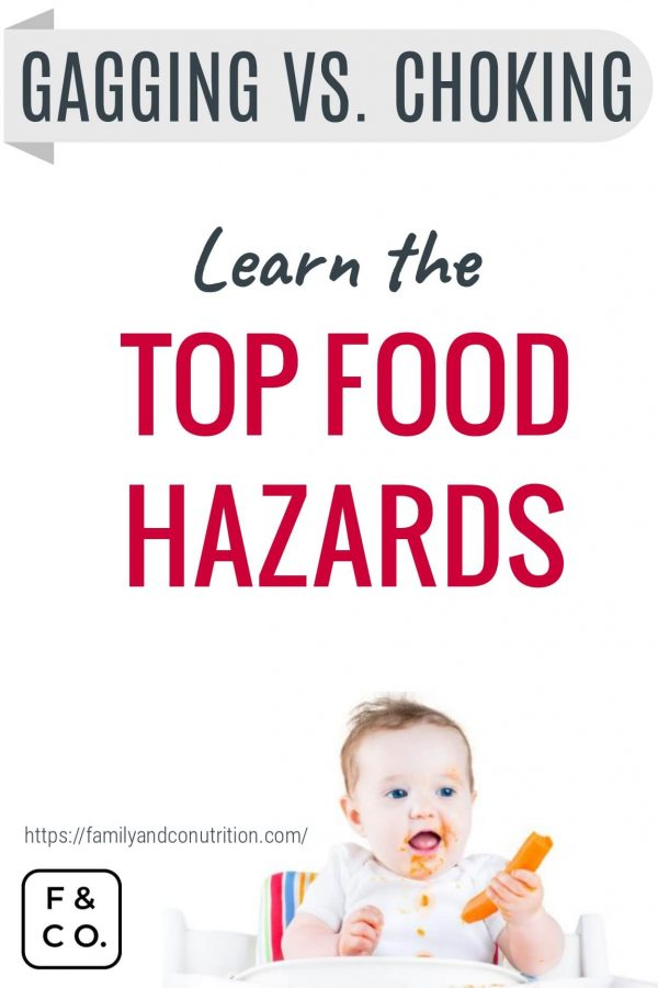 dangerous food for choking in babies