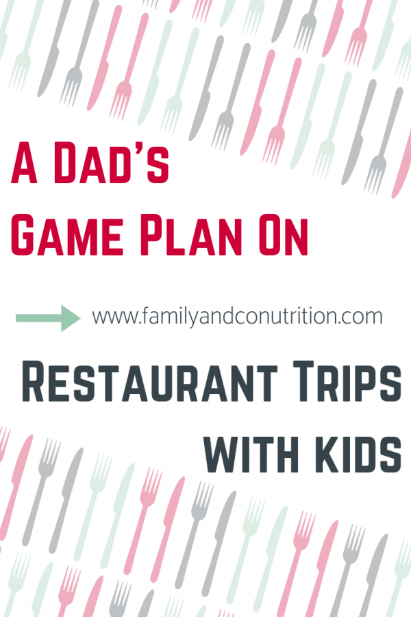 Restaurant trips with kids activities and busy bags