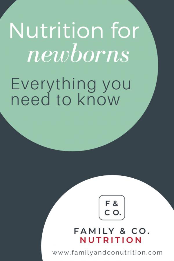 Newborn feeding tips for mothers