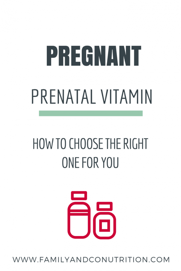 Tips on prenatal vitamins