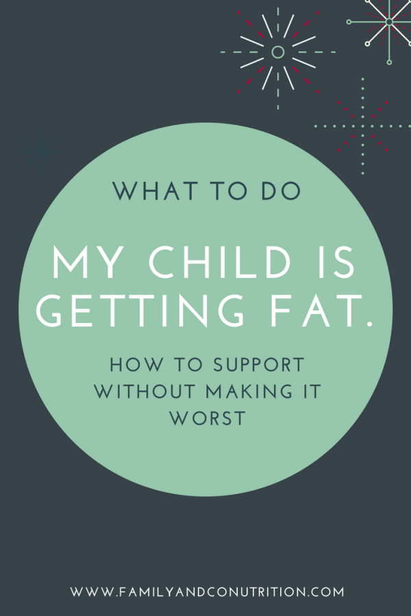 Tips for parents with an overweight child